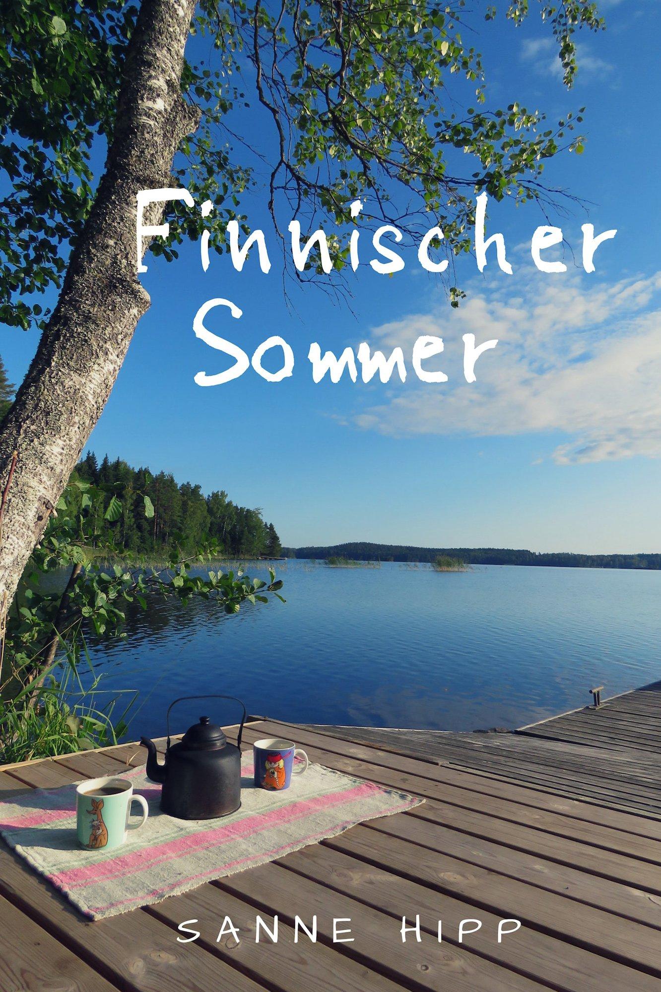 Buchcover Sanne Hipp - Finnischer Sommer - lesbian romance