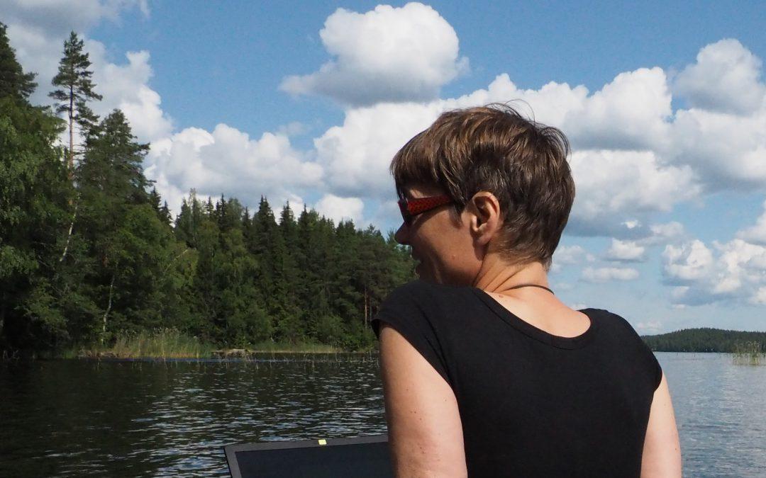 Urlaub in Finnland — Heimkommen an meinen See
